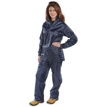B-Dri NBDS Waterproof Suit Navy Blue